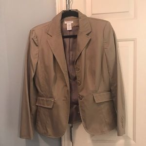 Worthington taupe blazer